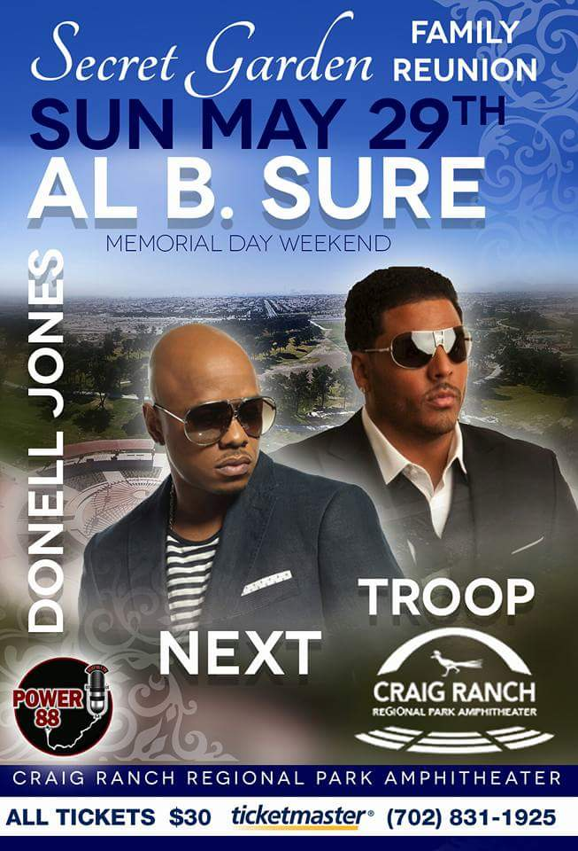 Al B. Sure! Family Reunion