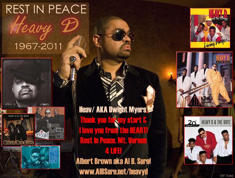 Rest In Peace Heavy D- Al B. Sure!
