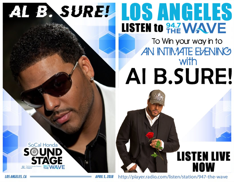 An Intimate Evening with Al B. Sure! @SoundStage in Los Angeles