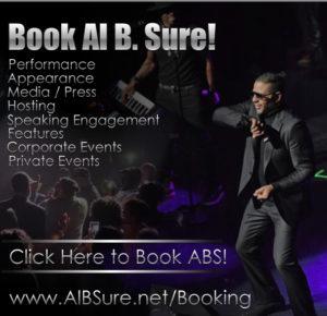 Book Al B. Sure!