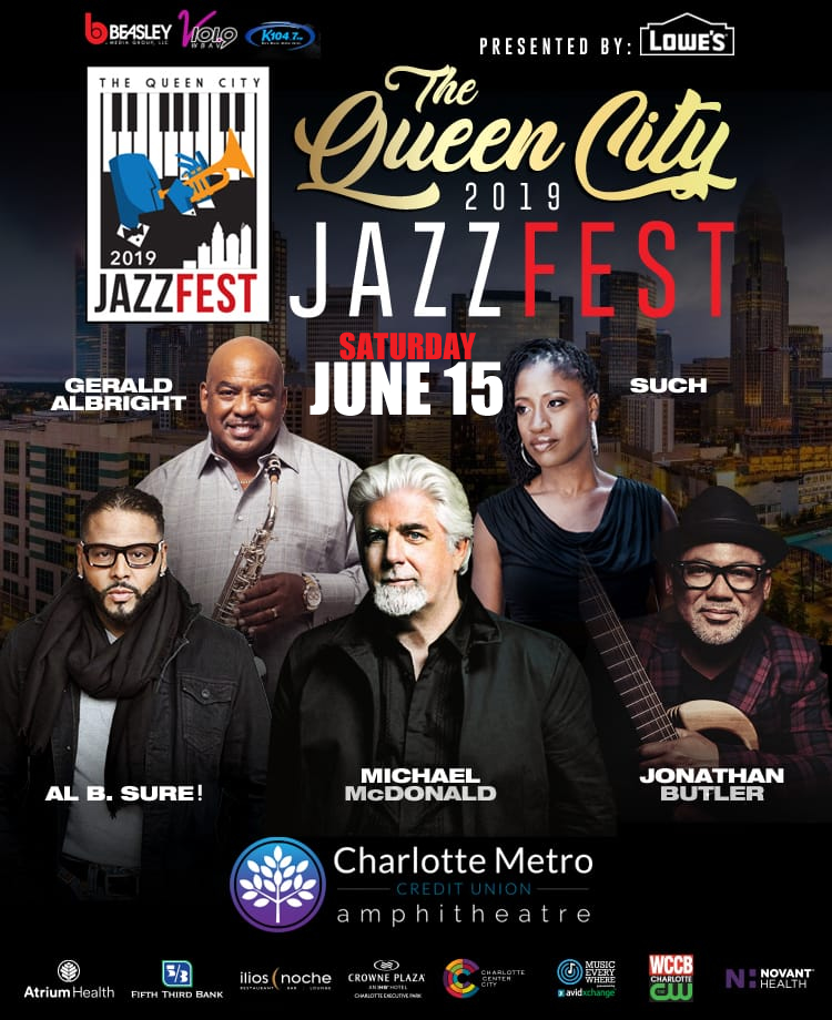Al B. Sure! to Host the QueenCity JazzFest Sat June 15th, 2019 Charlotte, NC