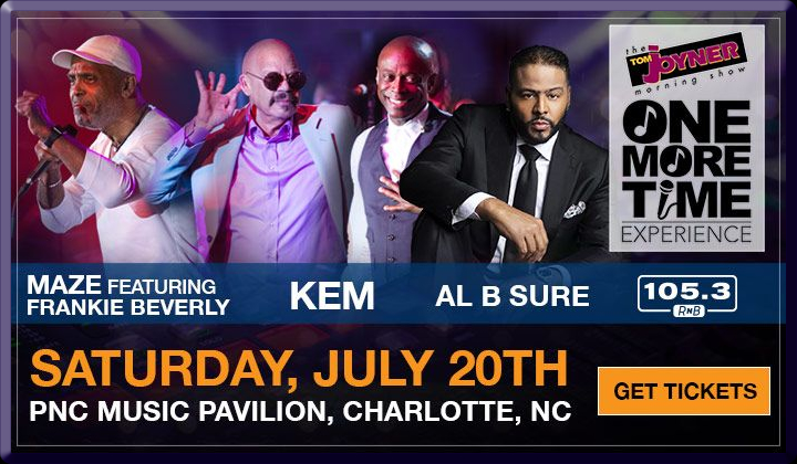 Al B. Sure! to perform at the TOM JOYNER ONE MORE TIME EXPERIENCE Saturday July 20, 2019