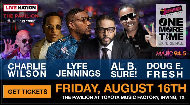 Al B. Sure! to Perform Aug 16th, 2019 in Dallas, TX at the Tom Joyner One More Time Expereince